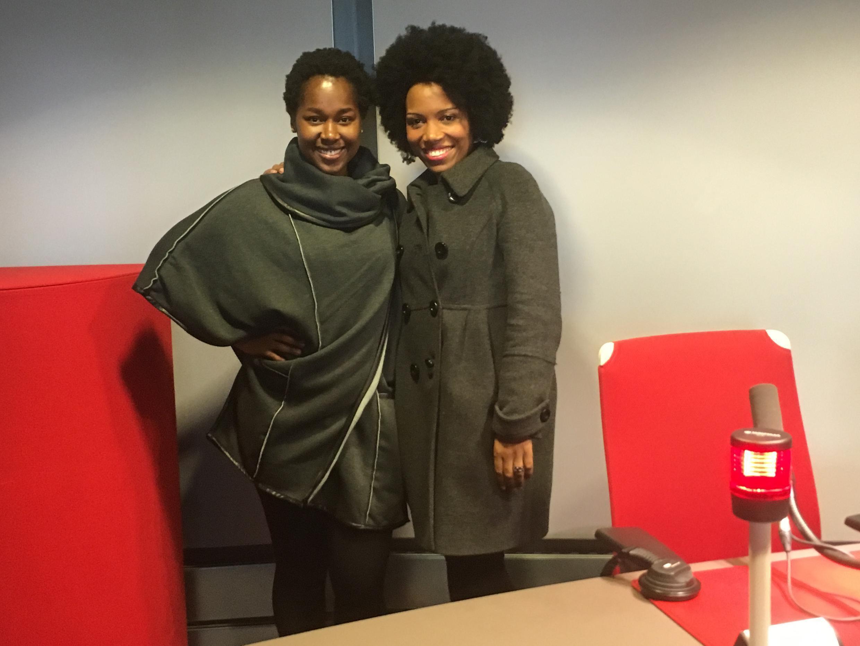 Élida Almeida e Lura na RFI a 3 de Fevereiro de 2016