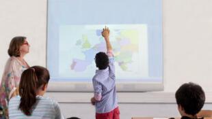 Leçon de géographie.