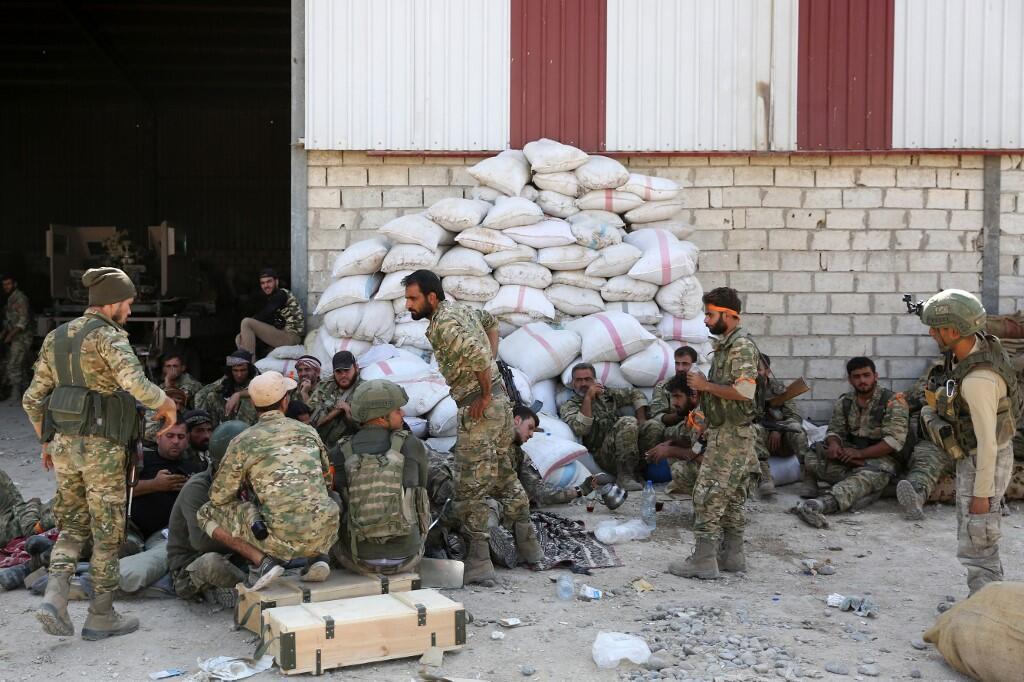 土耳其向庫爾德武裝力量發動軍事進攻
