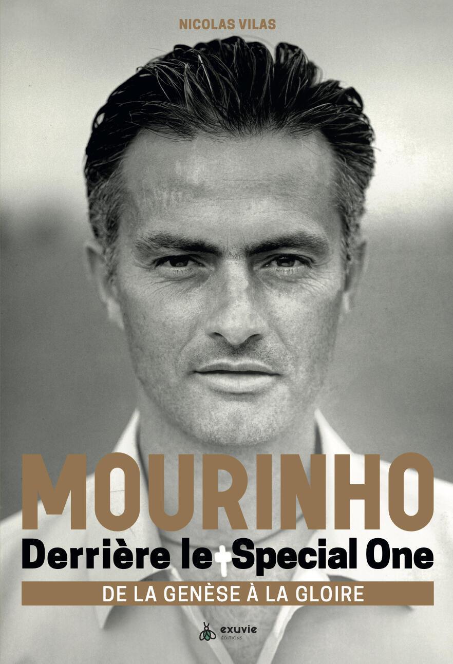 José Mourinho - Nicolas Vilas - Futebol - Desporto - Arte - Cultura - Livro