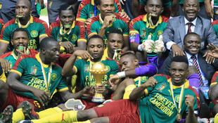 Cameroon ilishinda taji la Afrika mwaka 2017 ilipoishinda Misri mabao 2-1