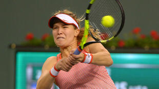 Eugene Bouchard beat Sloane Stephens in straight sets to enter the third round of Indian Wells tournament.