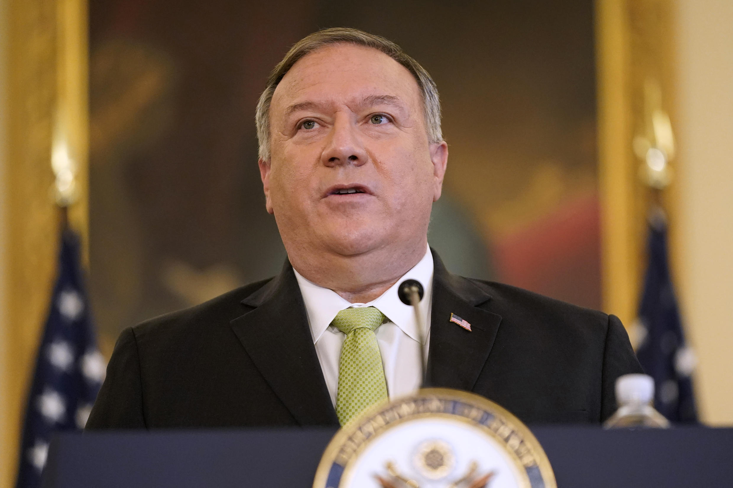 US Secretary of State Mike Pompeo, pictured in September 2020, will travel to Tokyo where he will meet with foreign ministers of Australia, India and Japan