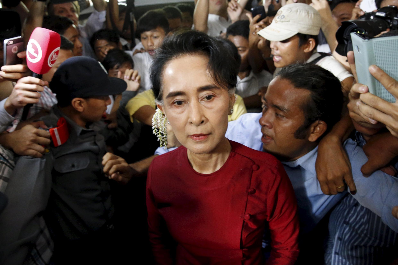 آنگ سان سوچی، رهبر حزب لیگ ملی برای دمکراسی