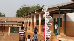 A l'hôpital régional de Boké, des moyens et du personnel ont été affectés pour faire face à la demande en hausse en santé à cause de l'afflux de population.