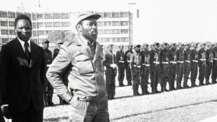 L'ex-président mozambicain, Samora Machel.