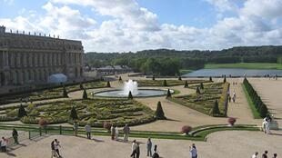 """Parterre du Midi"" designed by Le Nôtre in the Versailles Palace"