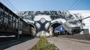 Le tunnel sous la Manche, Calais/Coquelles, France.