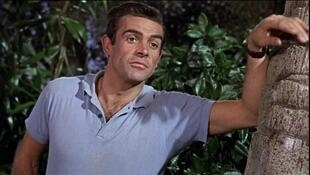 """Кадр из фильма """"Dr.NO"""", Шон Коннери, 1962"""