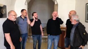 Chanteurs corses du groupe A. Filletta.