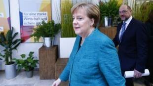 La chancelière Angela Merkel a dû faire beaucoup de concessions aux sociaux-démocrates pour parvenir à un accord.