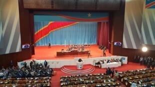 Assemblée nationale congolaise, septembre 2019 (illustration).