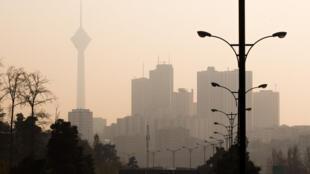 آلودگی شدید هوای تهران