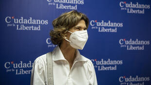 Police in Nicaragua have raided the home of opposition leader Cristiana Chamorro, seen here