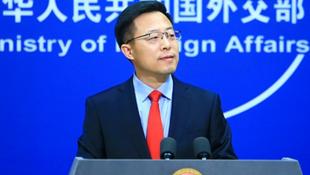 中國外交部發言人趙立堅資料圖片