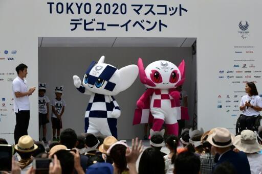 Les mascottes de Tokyo 2020: Miraitowa pour les Olympiques et Someity pour les Paralympiques, officiellement présentés le 22 juillet 2018 dans la capitale nippone