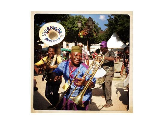 Les Béninois du Gangbé Brass Band, comme Punta Negra, déambuleront dans les rues de Cajarc tous les jours.