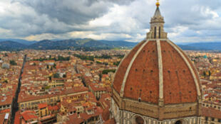 Florence en Italie, centre historique classé au patrimoine mondial de l'Unesco.