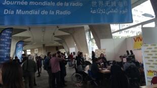 Unesco debateu desafios dos jovens repórteres de rádio.