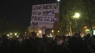 manifestation france violence police