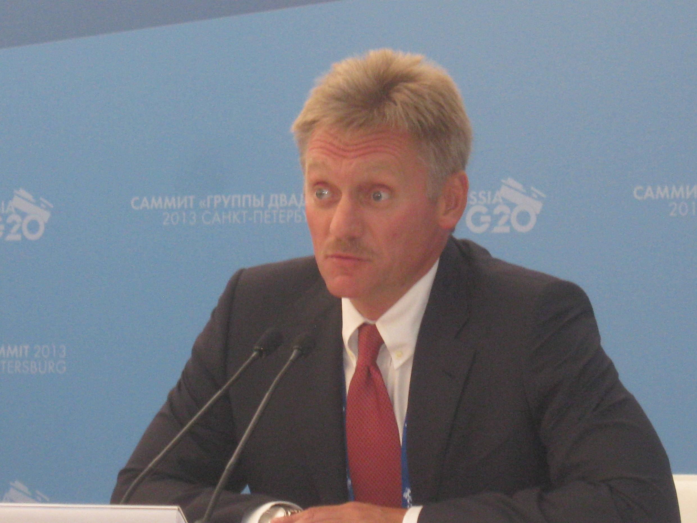 Дмитрий Песков на пресс-конференции 05/09/2013