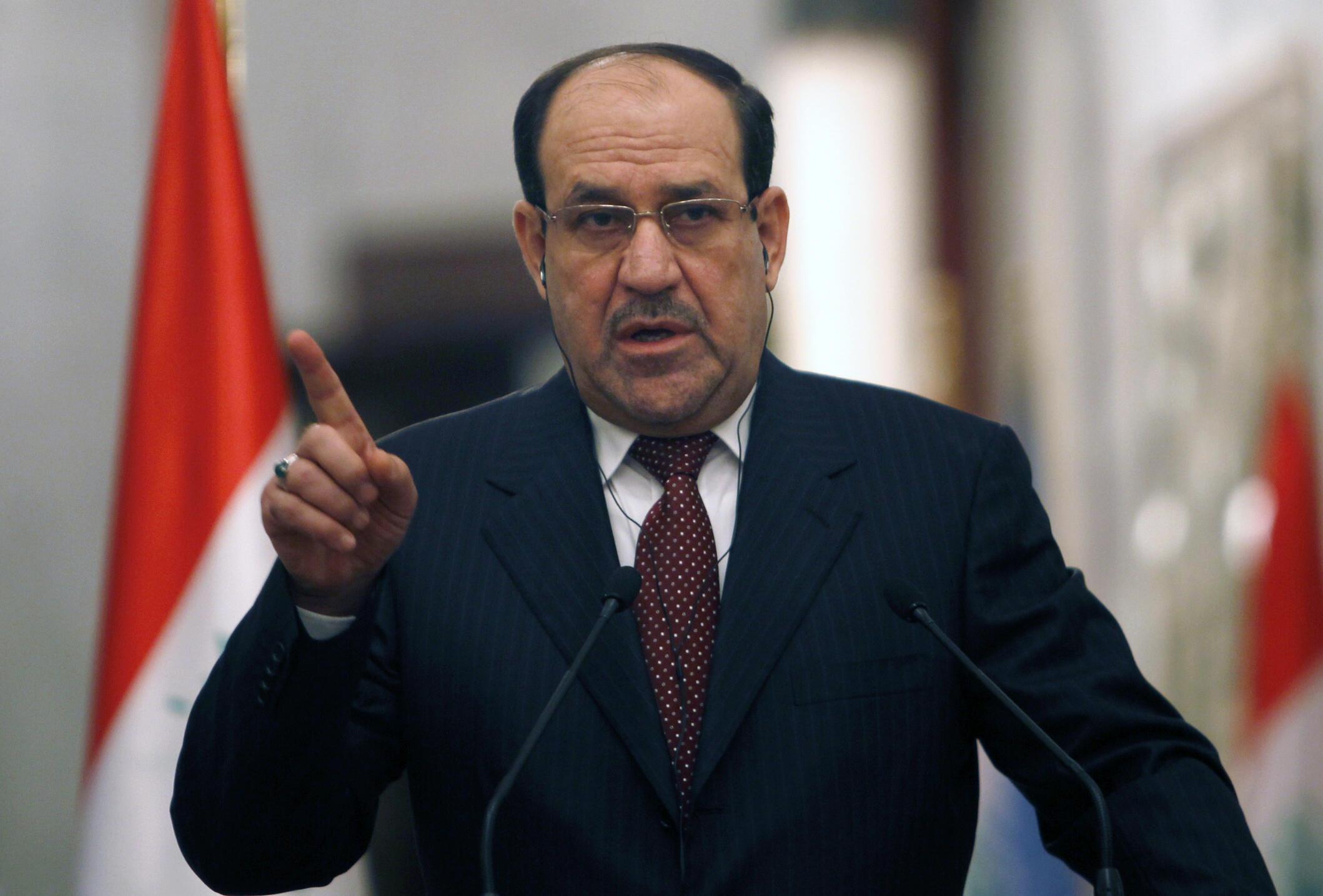 Fira Ministan kasar Iraqi, Nuri al Maliki