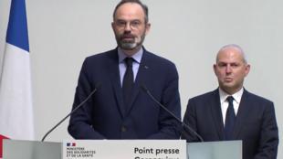 ادوارد فیلیپ نخست وزیر فرانسه ورود کشور به مرحلۀ سوم شیوع ویروس کرونا را اعلام کرد