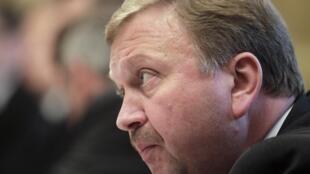 Andreï Kobiakov, le nouveau Premier ministre biélorusse.