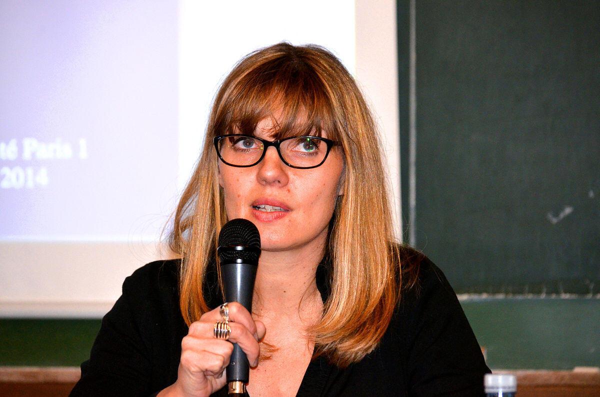 Alexandra Goujon, politologue spécialiste de la Russie, de l'Ukraine et de la Biélorussie.