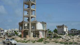 L'ancien Parlement, dans le vieux Mogadiscio.