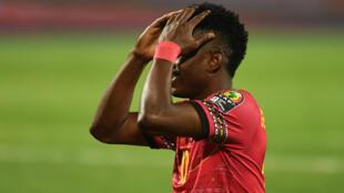 Gelson Dala - Angola - Palancas Negras - Futebol - Desporto - Football - Selecção Angolana - CAN-2022 - CAN