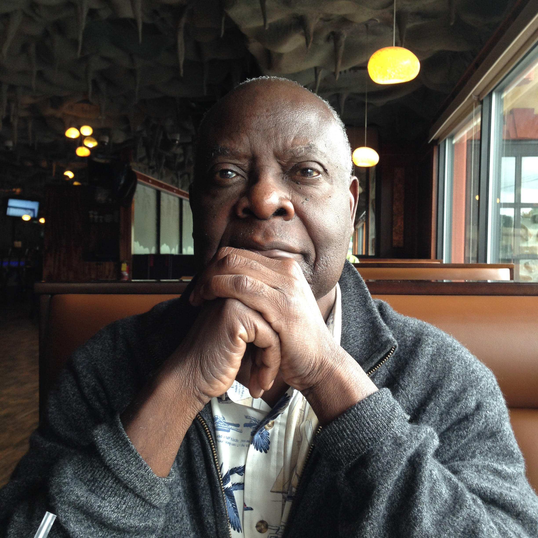 Portrait de l'écrivain Emmanuel Dongala, à l'occasion de la sortie de son livre «La sonate à Bridgetower», paru aux éditions Actes Sud.