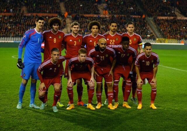Đội tuyển Bỉ 2014 với thế hệ tài năng mới.