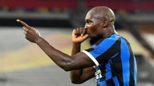 Romelu Lukaku dan wasan Inter Milan.