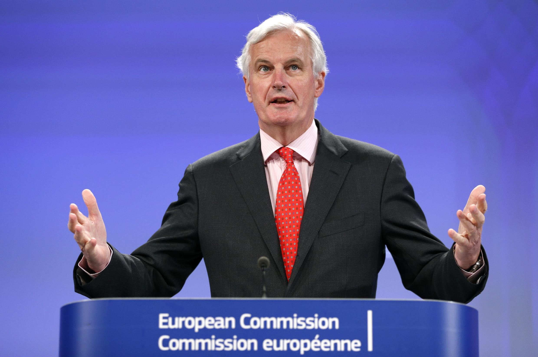 Le commissaire européen chargé du Marché intérieur et des Services, Michel Barnier, à Bruxelles, le 10 juillet 2013.