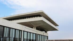 Le terminal Est de l'aéroport international d'Athènes abandonné depuis 2001, ici en juillet 2018.