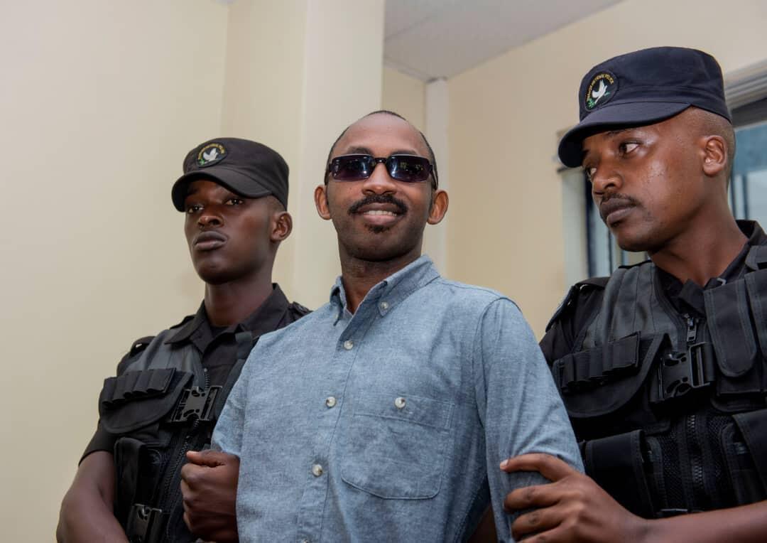 Callixte Nsabimana, msemaji wa the National Liberation Front (FLN)