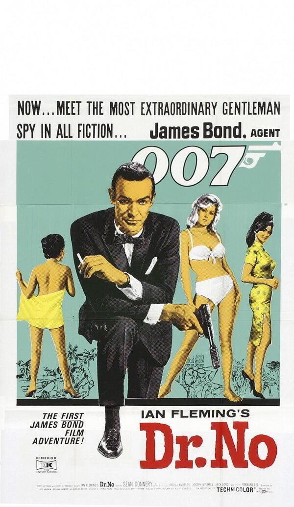 """Афиша фильма """"Dr.NO"""", 1962"""