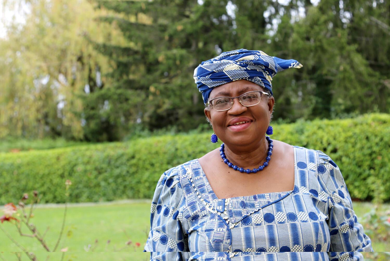 La candidate au poste de directrice de l'OMC Ngozi Okonjo-Iweala, le 29 septembre 2020.