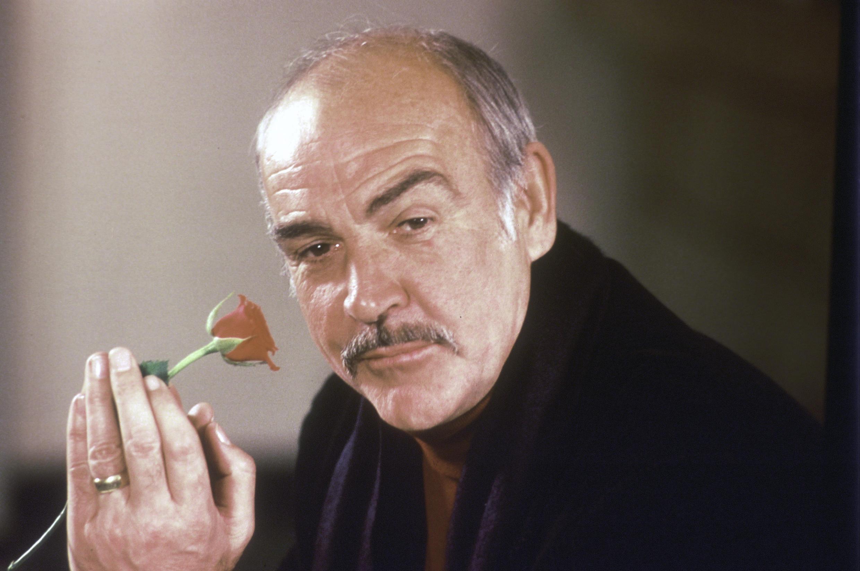 """Шон Коннери. Фото 23 января 1987 г., по случаю выхода фильма Жан-Жака Анно """"Имя розы"""""""