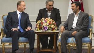 Николай Патрушев и Махмуд Ахмадинежад, 16 августа 2011