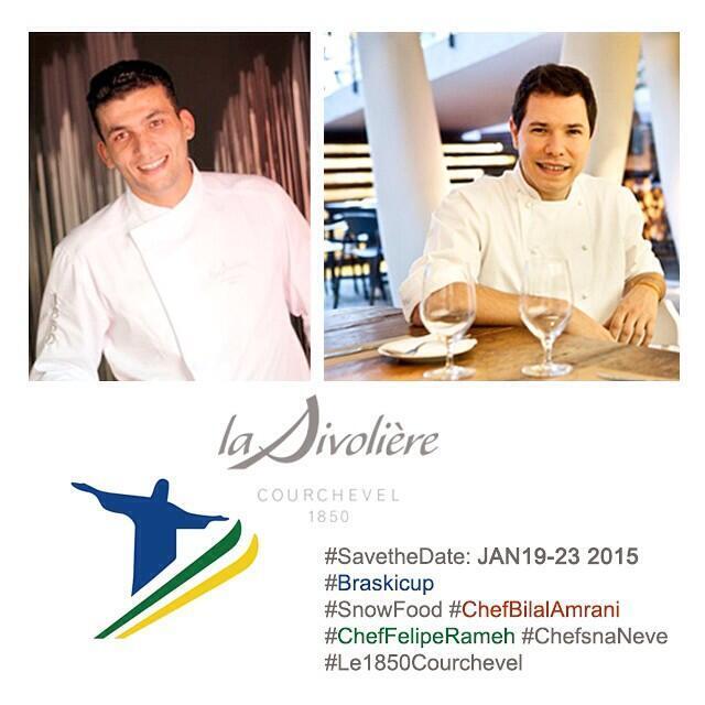 Os Chefs Bilal Amrani e Felipe Rameh