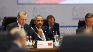 Os chefes de Estado e de Governo dos países mais ricos do planeta estão reunidos este domingo em Antalya,Turquia