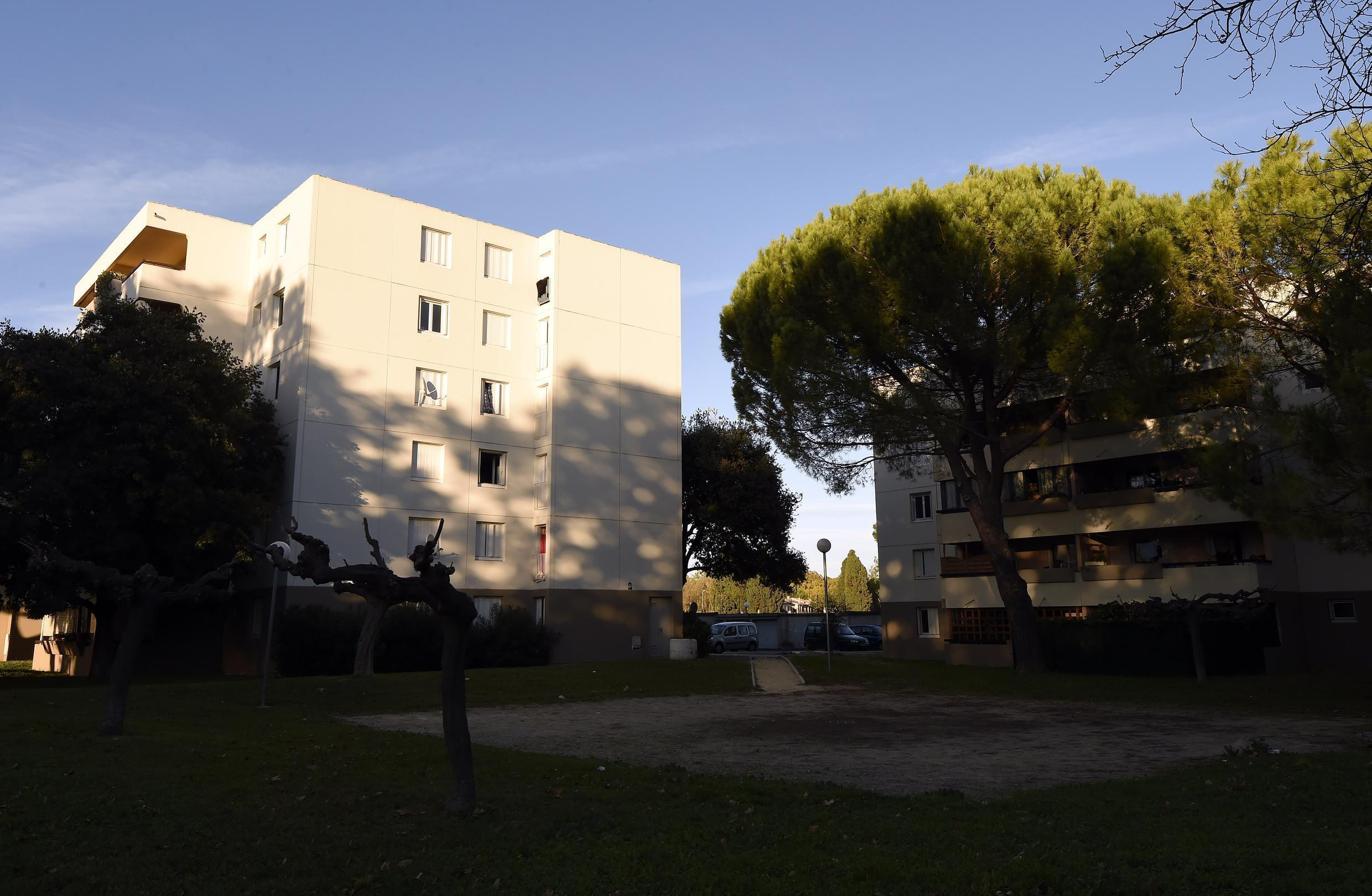 Abrivado district in Lunel from where six men, aged 18 to 30, have left for Syria.