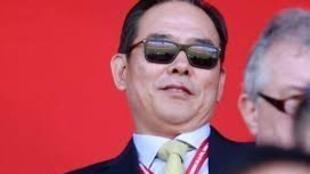 圖為中國足協主席蔡振華