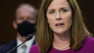 Judge Amy Coney Barrett appeared before the US Senate for the first day of her confirmation hearings for the Supreme Court on October 12, 2020