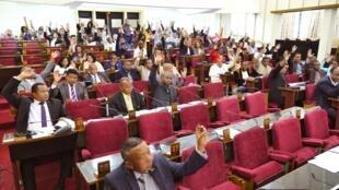 Les députés présents ont voté quasi à l'unanimité la modification de la loi 2011-013 portant statut de l'opposition, mercredi 21 août 2019.