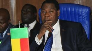 Le président béninois Boni Yayi termine son second et dernier mandat en 2016.