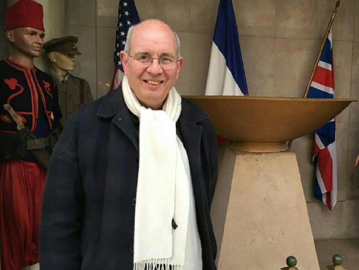 Bernard Letemps, le président de l'association du Mémorial de la clairière de l'Armistice.
