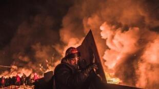 Киев, Майдан, 19 февраля 2014